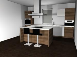 moderna stilska kuhinja