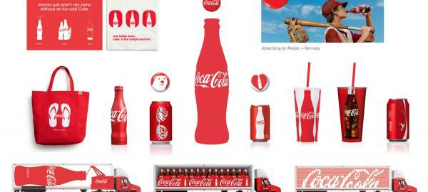 Celostna grafična podoba Coca cola