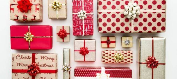 božična darila in nakup