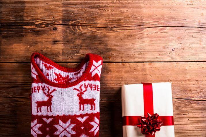božična darila in moje darilo